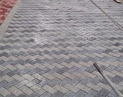 pavimentação paver concluída