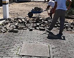 pavimentação paver equipe